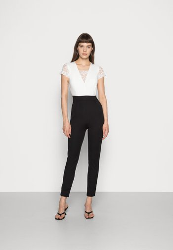 TWO TONE SLEEVE  - Overall / Jumpsuit - black/white