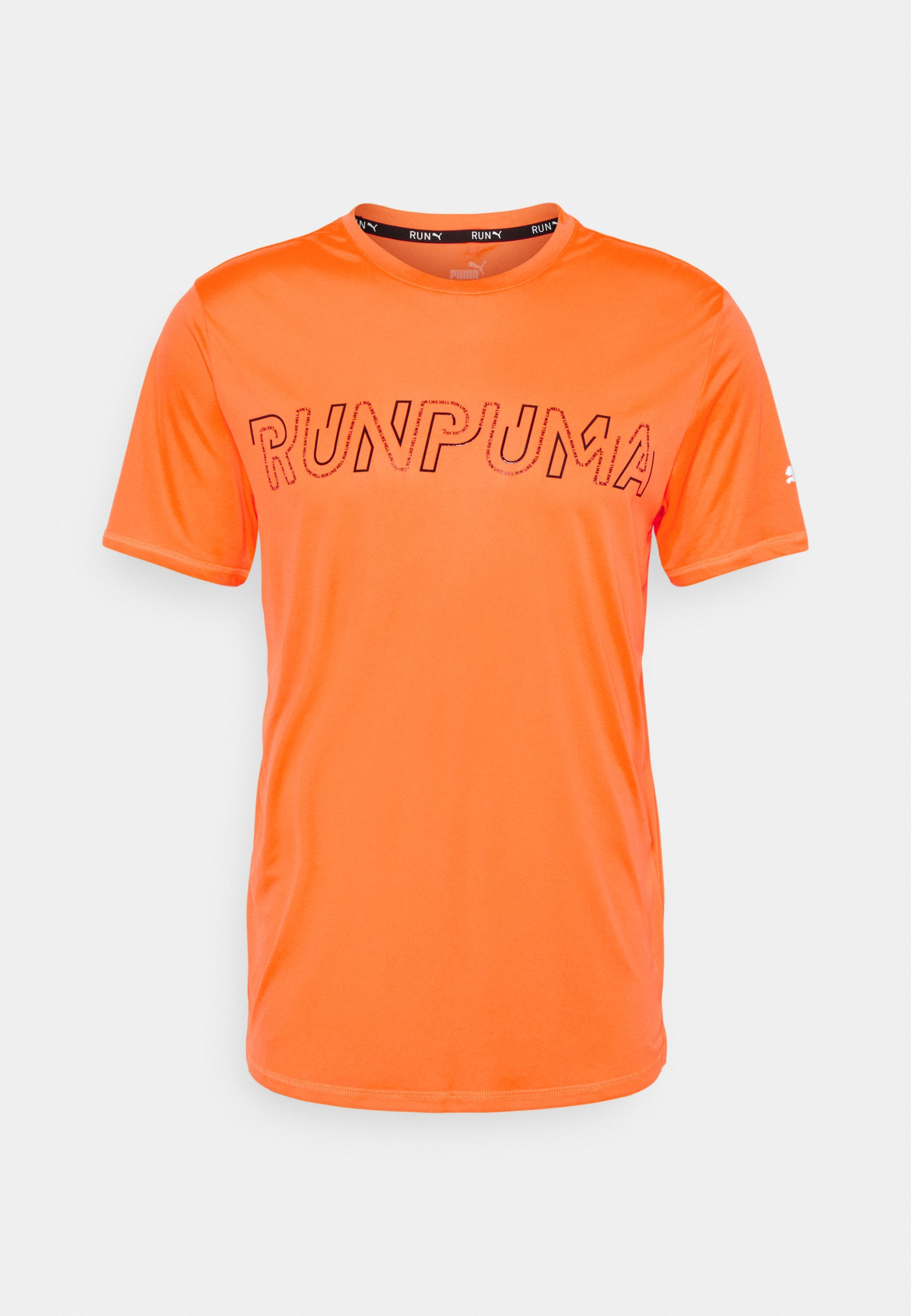 Homme RUN LOGO TEE - T-shirt imprimé