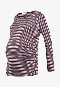 Cotton On - HENLEY SLEEVE - Bluzka z długim rękawem - garnet rose - 4