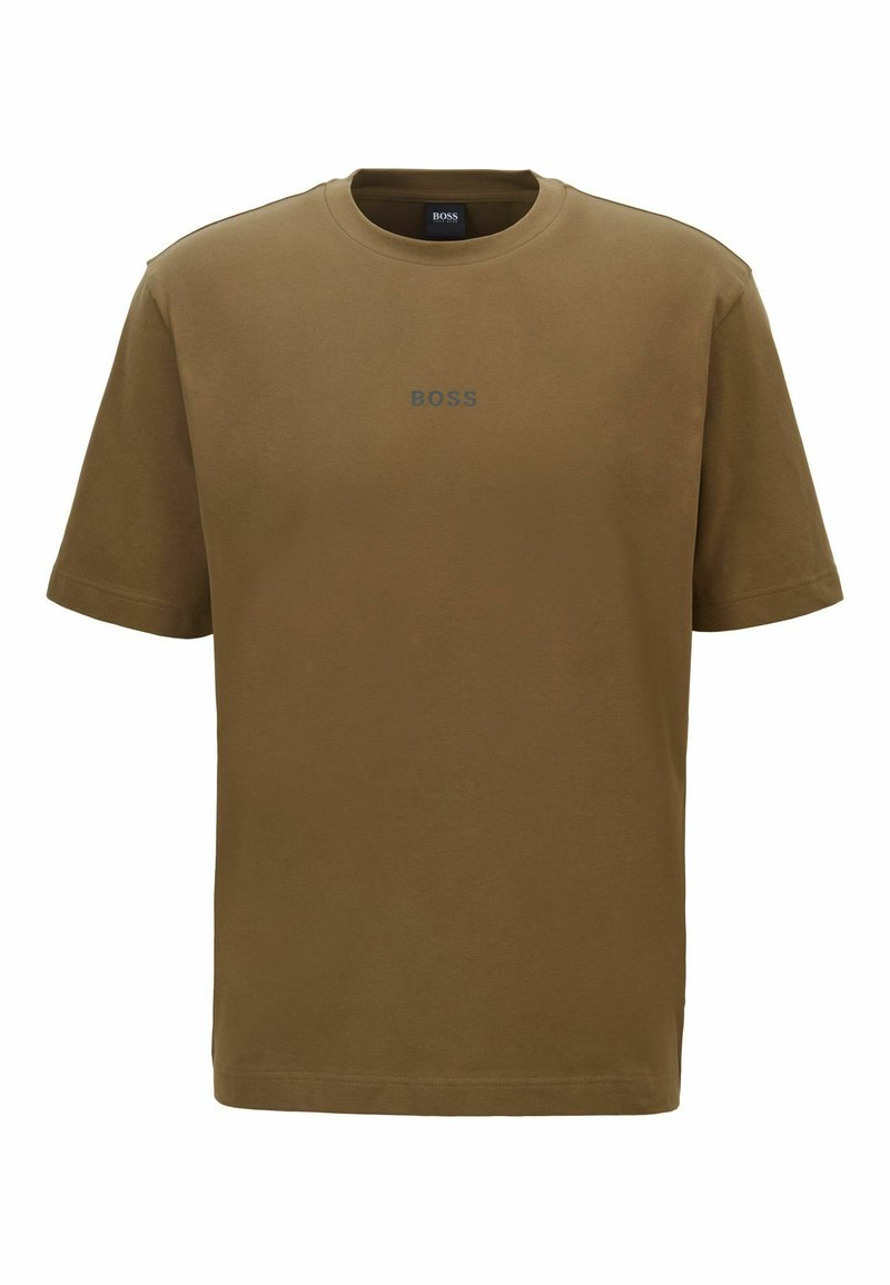 BOSS - Basic T-shirt - khaki