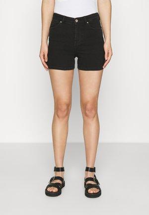 ONLPOWER LIFE  - Denim shorts - black