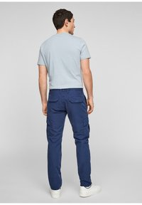 s.Oliver - Cargo trousers - blue - 2