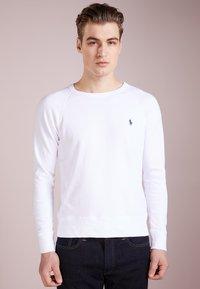 Polo Ralph Lauren - LONG SLEEVE - Sweatshirt - white - 0