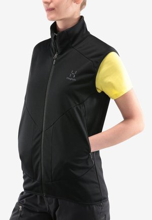 HAGLÖFS SOFTSHELL WESTE MULTI WS VEST WOMEN - Weste - true black
