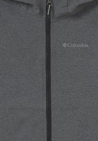 Columbia - ROCKY RANGE UNISEX - Soft shell jacket - black heather - 2
