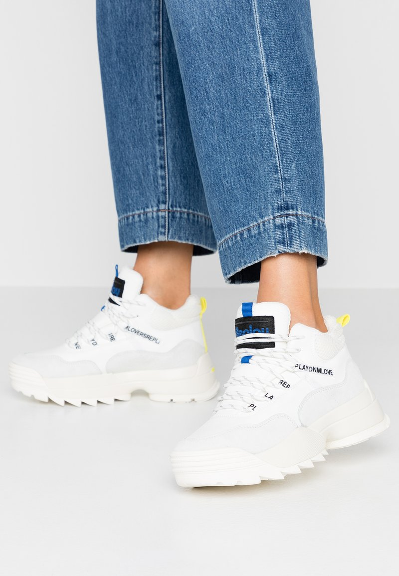 Replay - ANY - High-top trainers - white