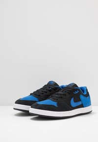 Nike SB - ALLEYOOP UNISEX - Skate shoes - black/royal blue - 4