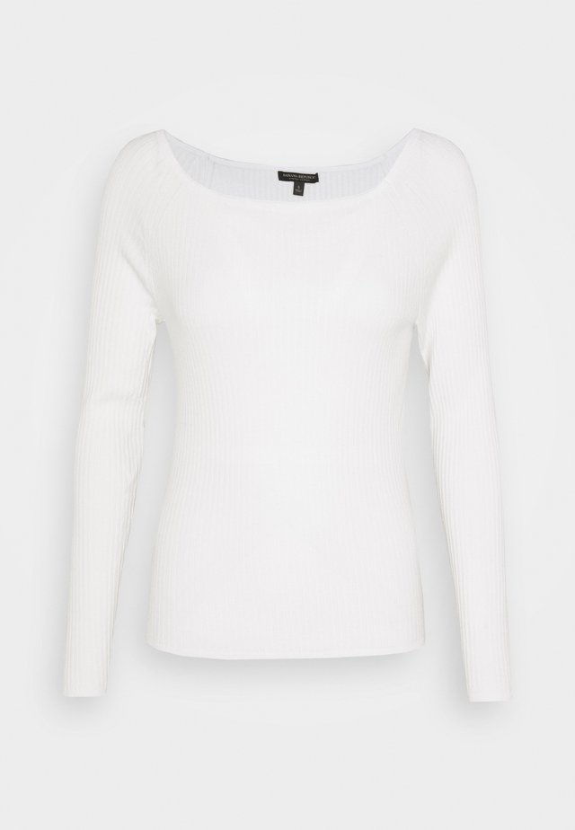 STRETCH BOATNECK - Jumper - snow day