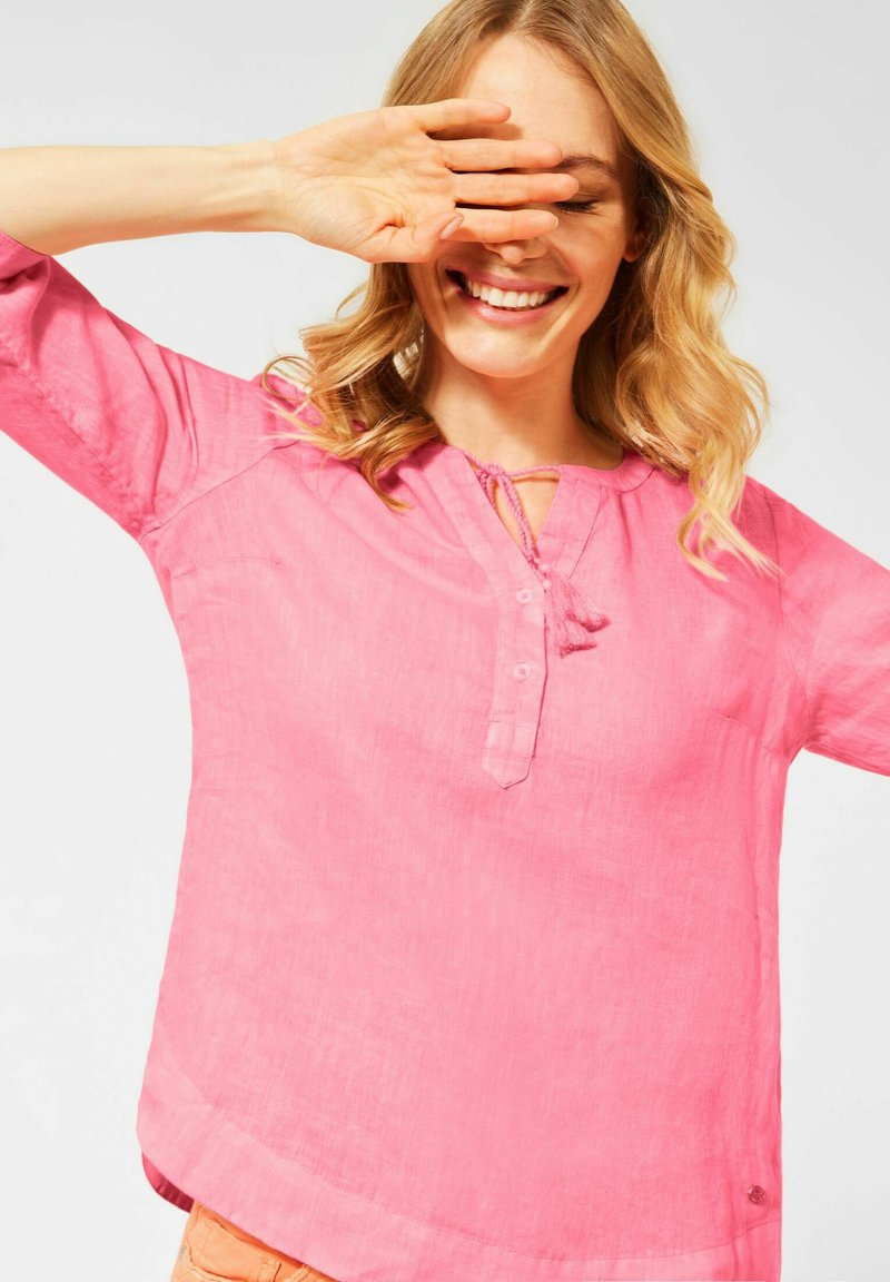 Cecil - IN UNIFARBE - Blouse - pink
