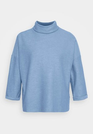 TURTLE NECK - Long sleeved top - summer blue