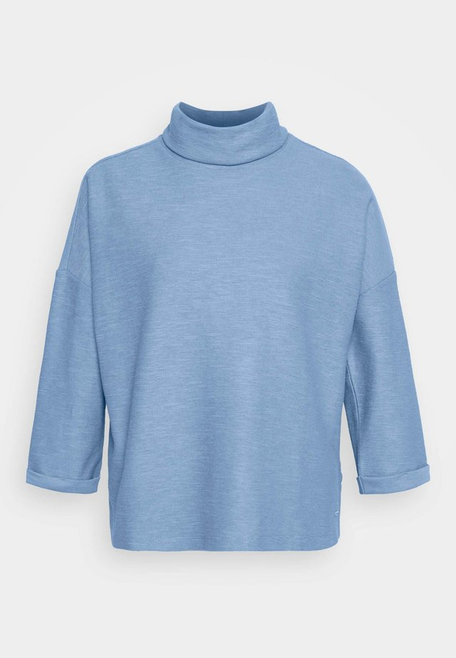 TURTLE NECK - Long sleeved top - summer blue