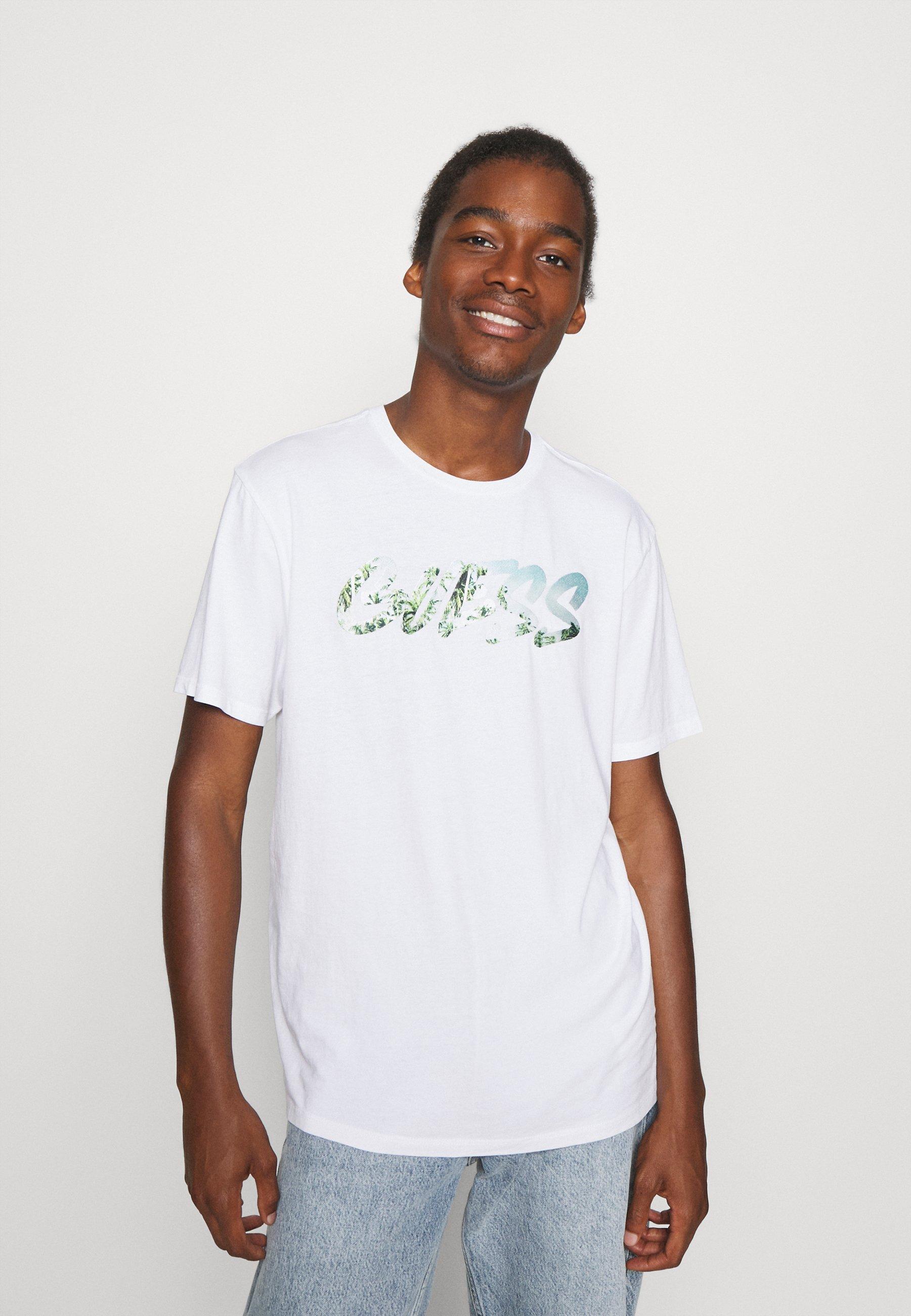Men GRAFFITI LOGO TEE - Print T-shirt