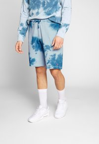 Russell Athletic Eagle R - ADAM - Tracksuit bottoms - copen blue - 0
