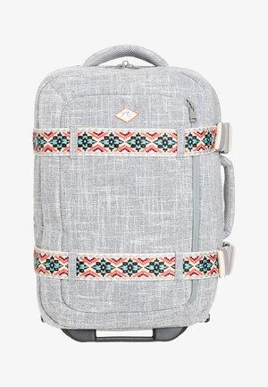 Wheeled suitcase - heritage heather