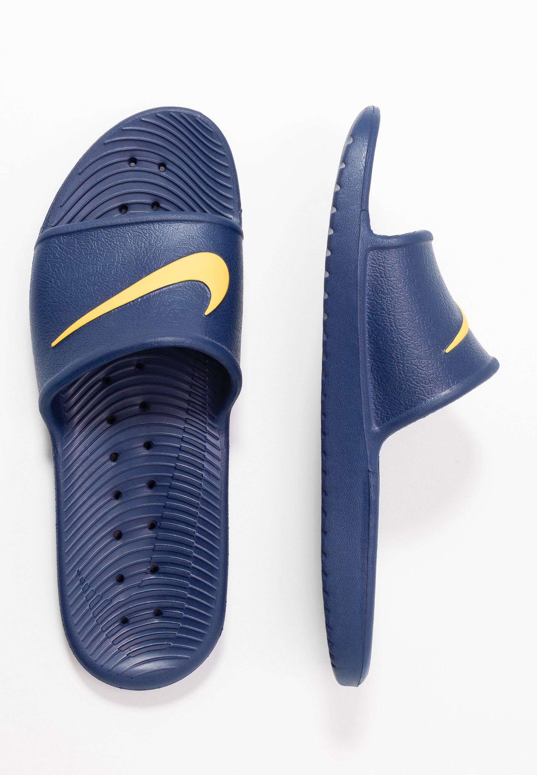 Nike Sportswear Kawa Shower - Badesandaler Blue Void/laser Orange