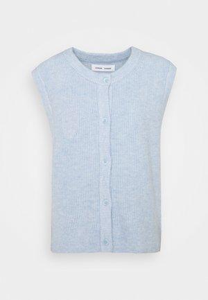 NOR CARDIGAN VEST - Cardigan - brunnera blue