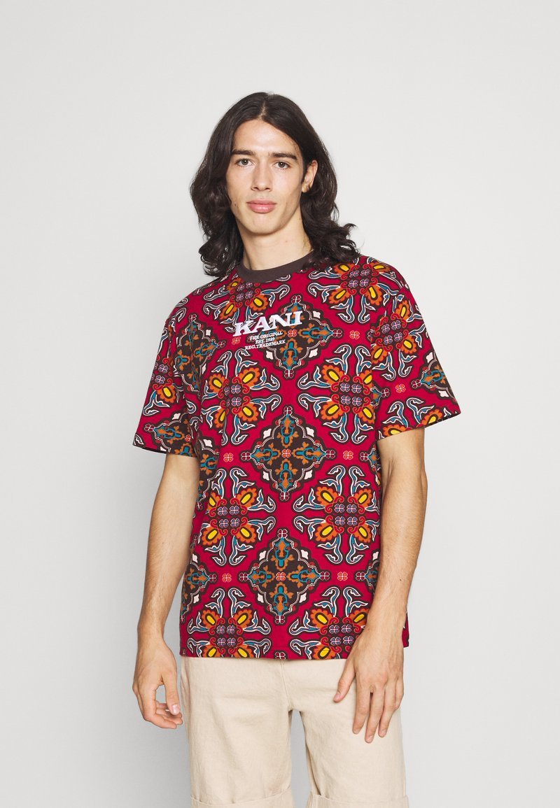 Karl Kani - UNISEX RETRO ORNAMENTAL TEE  - T-shirt print - multicolor