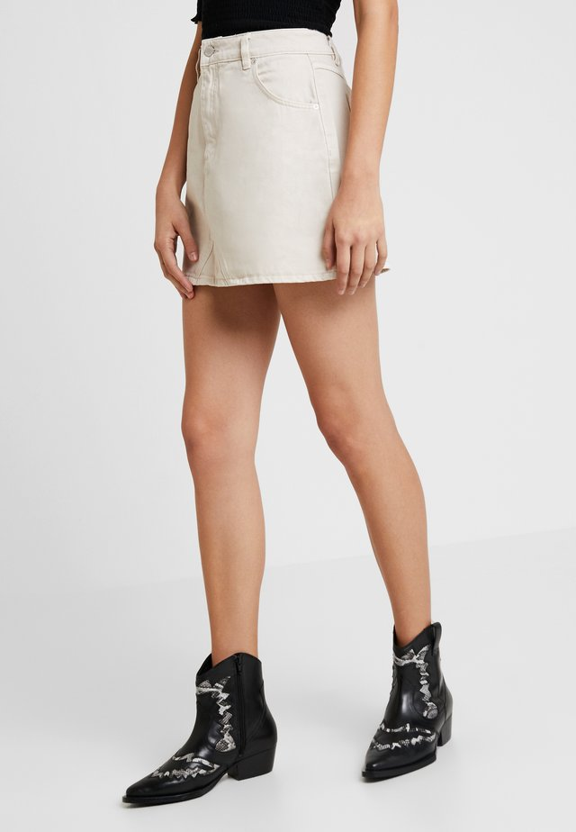 CLAUDIA SKIRT - A-line skirt - cream