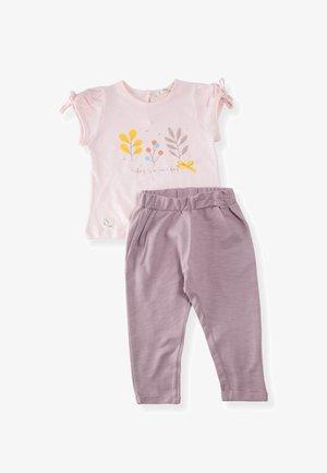 SET - Leggings - Trousers - light pink