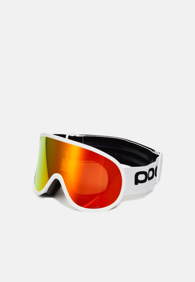 RETINA BIG CLARITY UNISEX - Gafas de esquí - hydrogen white/spektris orange