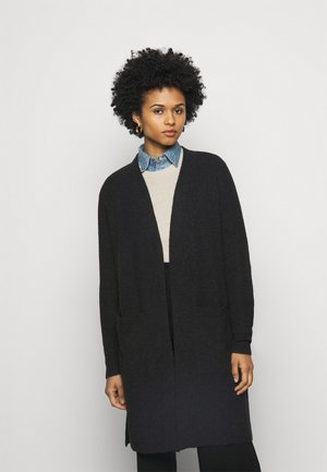 Cardigan - charcoal heather