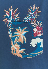 Jack & Jones - Triko spotiskem - ensign blue - 2