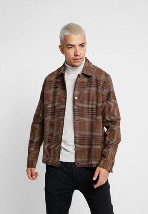 BRASS JACKET - Summer jacket - brown