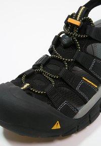 Keen - NEWPORT H2 - Sandały trekkingowe - black - 5