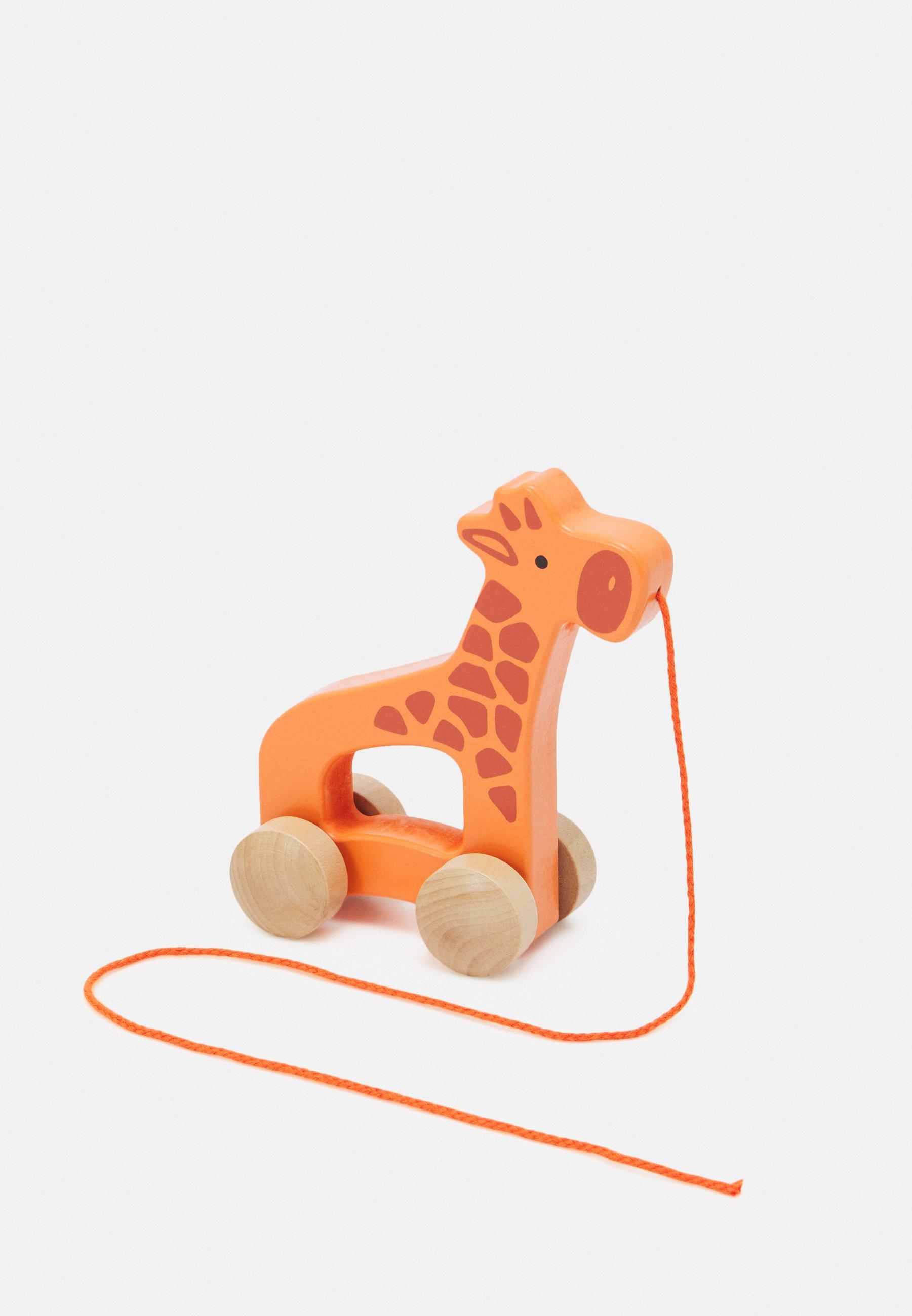 Kinder NACHZIEH GIRAFFE UNISEX - Holzspielzeug