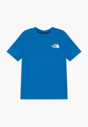BOYS REACTOR TEE - Camiseta estampada - clear lake blue