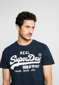 Superdry - TEE - Print T-shirt - eclipse navy - 3