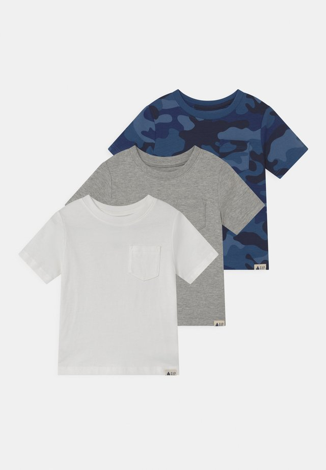TODDLER BOY 3 PACK - T-shirt imprimé - blue