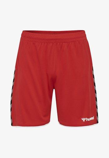 AUTHENTIC - Korte sportsbukser - true red