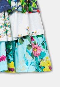 Desigual - FAL_CURIE - Mini skirt - white - 2
