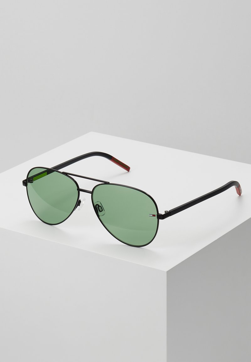 Tommy Jeans - Sunglasses - black/geen