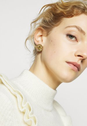 KRESSIDA SMALL PIN EARRINGS - Orecchini - gold-coloured/multi