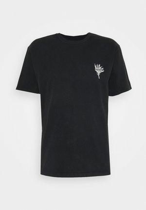 WALK ON THE WILD SIDE - T-shirt imprimé - black washed