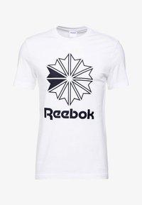 Reebok Classic - BIG LOGO TEE - Camiseta estampada - white - 3