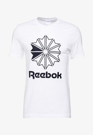 BIG LOGO TEE - Print T-shirt - white