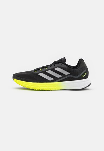 Neutral running shoes - core black/solar yellow