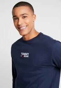 Tommy Jeans - Long sleeved top - black iris - 3