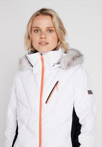 Roxy - SNOWSTORM - Giacca da snowboard - bright white - 5