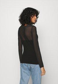 ONLY - ONLQUINN  - Long sleeved top - black - 2