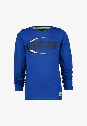 Long sleeved top - pool blue