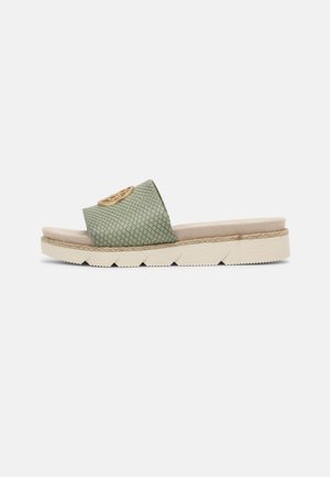KIKO - Sandaler - light green/reptile