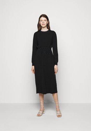 WAIST DRESS - Jumper dress - black