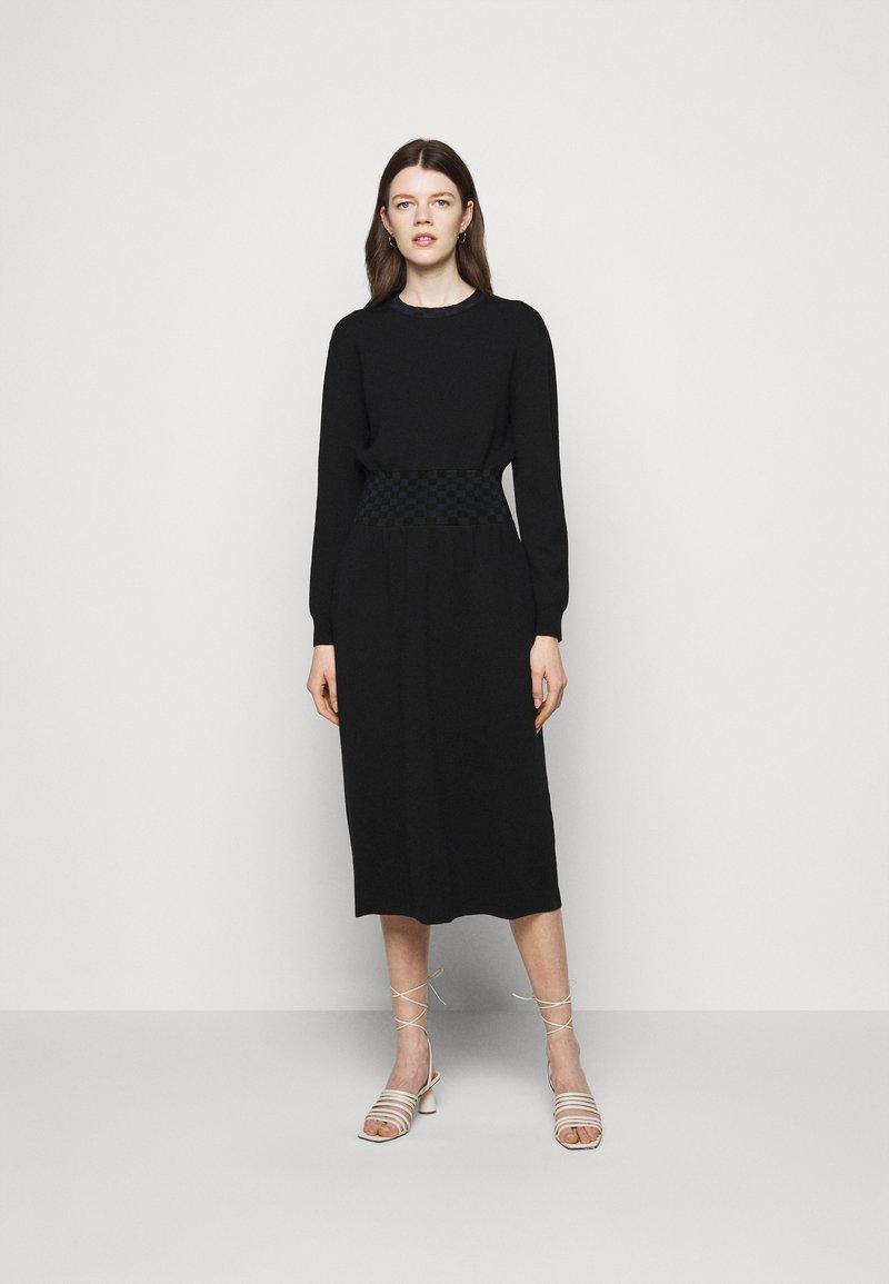 Tory Burch - WAIST DRESS - Jumper dress - black