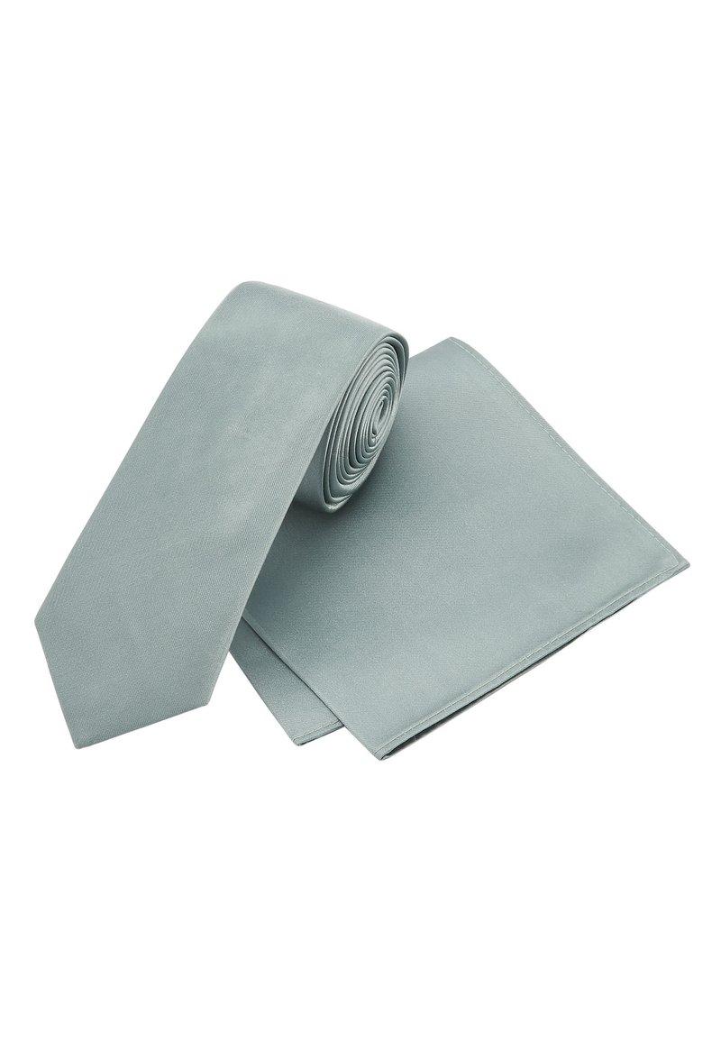 Next - SET - Pocket square - green