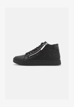 CUPSOLE TOP ZIP  - Sneakersy wysokie - triple black