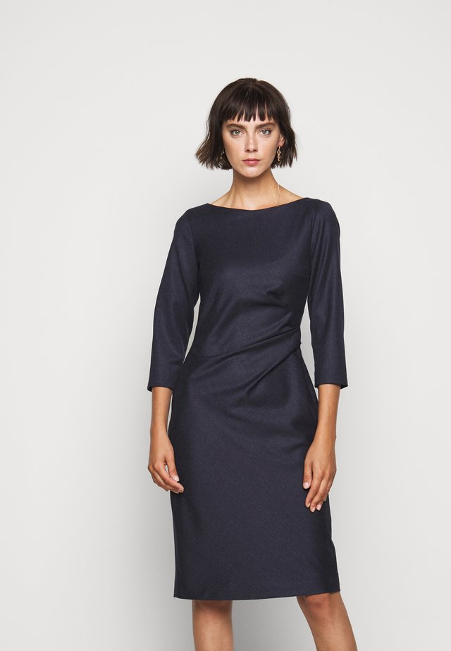BURGOS - Shift dress - blau